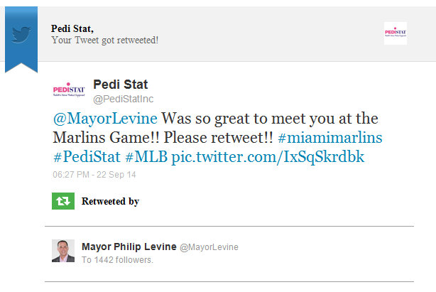 baseball game twitter mayor
